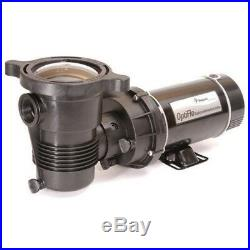 Pentair 347992 1.5HP 115V OptiFlo 2-Speed Aboveground Pool Pump with STD Cord