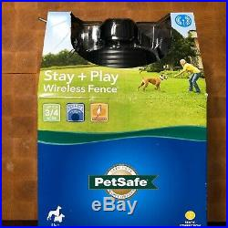 PetSafe Stay & Play Dog/Cat Wireless Fence Above Ground Electric Pet Fence (NEW)