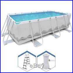 Pool Above-Ground complete with Pump and Ladder 400x207xh122 above Ground 17277