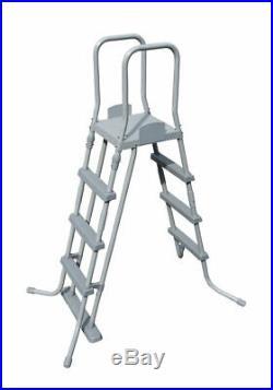 Pool C / Frame above Ground Pump Ladder Tarpaulin 549X274X122CM Bestway