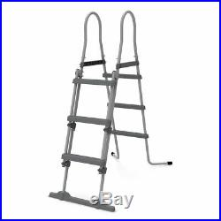 Pool Rectangular above Ground 400x200xh99cm with Pump and Ladder 17445eu
