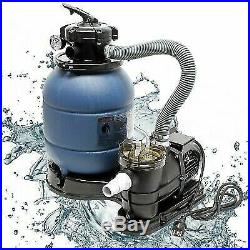 Pool Sand Filter and Pump Includes Sand