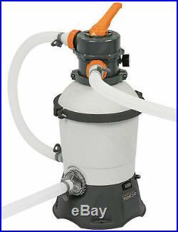 Pump Filtering Pool Sand Bestway 58515 2006 L/H complete with Gauge