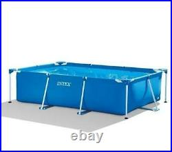Rectangular Frame Above Ground Pool 300x200x75cm 3834 liters
