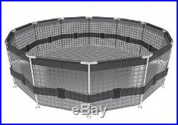 Round Frame SWIMMING POOL 305 cm 10FT Garden Above Ground Pool with PUMP SET