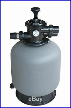 SWIMMING POOL SAND FILTER TOP MOUNT 14 4.32m³/hr ABOVE & BELOW GROUND POOLS
