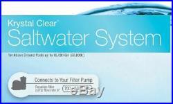 Saltwater Pool Filter System Swimming Salt Filtration Water Purifier 15000 Gal