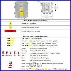 Solar Power Spa Swimming Heating Pump Pool Water Pump +8100W Mono Solar Panel