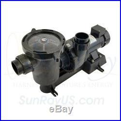 Solar Powered Inground 0.5HP SunRay 1 330w 36v Panel Pond Pool Pump DC Motor