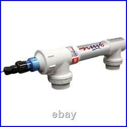 Solaxx UV1500A Nuvo Ultraviolet Water Sterilizer with Ozone Emitting Bulb, White