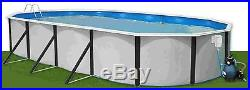 Steel Wall / Above Ground Swimming Pool Mulitiple Choices e. G. 5.5mx3.66mx1.2m