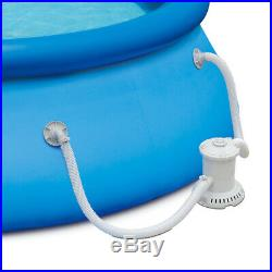 Summer Waves 15' x 36 Quick Set Inflatable Above Ground Pool with Filter Pump