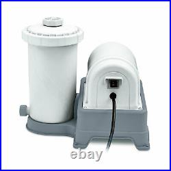Summer Waves 2000 Gallon Above Ground Swimming Pool Cartridge Filter Pump System