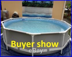 Summer Waves, INTEX Frame Above Ground Pool Set Pools & Spas swimming Pool