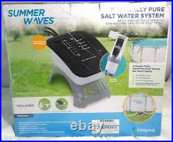 Summer Waves Salt Water System For Above Ground Pool, 7000galNEW IN BOX