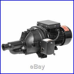 Superior Pump 1 Horsepower Above Ground Shallow & Deep Well Convertible Jet Pump