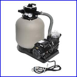 Swimline 2400 GPH 14-Inch. 5 HP High-Quality Pool Sand Filter Pump Combo 71405