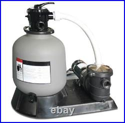 Swimline HydroTools 19 Above Ground Swimming Pool Sand Filter and Pump System