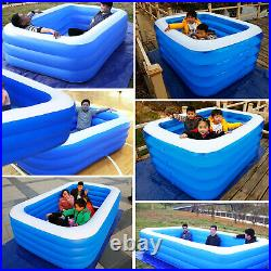 Swimming Pool Family Outdoor Backyard Summer Inflatable Pools Above-Ground Pools