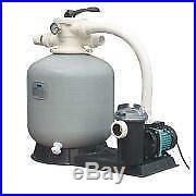 Swimming Pool Filter-top Mount 16 Sand Filter And 0.50hp Ss Mega Pump