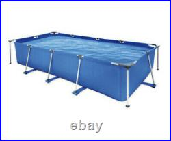 Swimming Pool Rectangular Steel Frame Metal Above Ground 4.5m Fast Delivery
