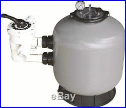 Swimming Pool Sand Filter 18 21 25 28 Fibreglass Above & Below Ground