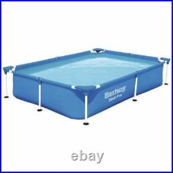 Swimming Pool above ground Steel Frame Pro 221x150x43 cm