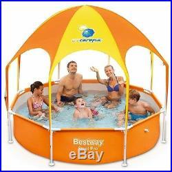 Swimming Pools Frame Outdoor Garden Big Family Women Kids Adult Above Ground UK
