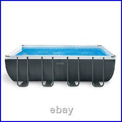 Ultra XTR 18ft x 9ft x 52 Rectangular Frame Above Ground Swimming Pool #26356