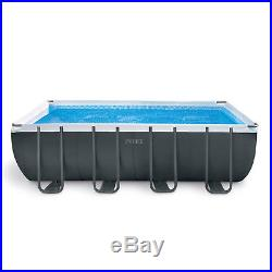 Ultra XTR 18ft x 9ft x 52 Rectangular Frame Above Ground Swimming Pool #26356