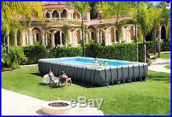 Ultra XTR 32ft x 16ft x 52 Rectangular Frame Above Ground Swimming Pool #26374