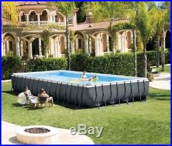 Ultra XTR 32ft x 16ft x 52 Rectangular Frame Above Ground Swimming Pool 26374