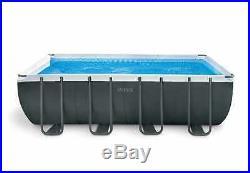 Ultra XTR Frame Above Ground Pool Rectangular 549x274x132cm Intex 26356 ex 26352