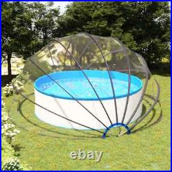 VidaXL Pool Dome Built in Above Ground Swimming Pool Cover Tent Accessory