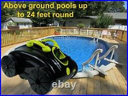 Waterjet Pool Cleaner for Above Ground or other Flat Bottom pools, 40ft cord