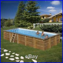 Wooden Above Or Below Ground Swimming Pool, 12m/10m/8m/6m/4m/Pools Available
